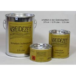 Schellack Isoliergrund - weiß